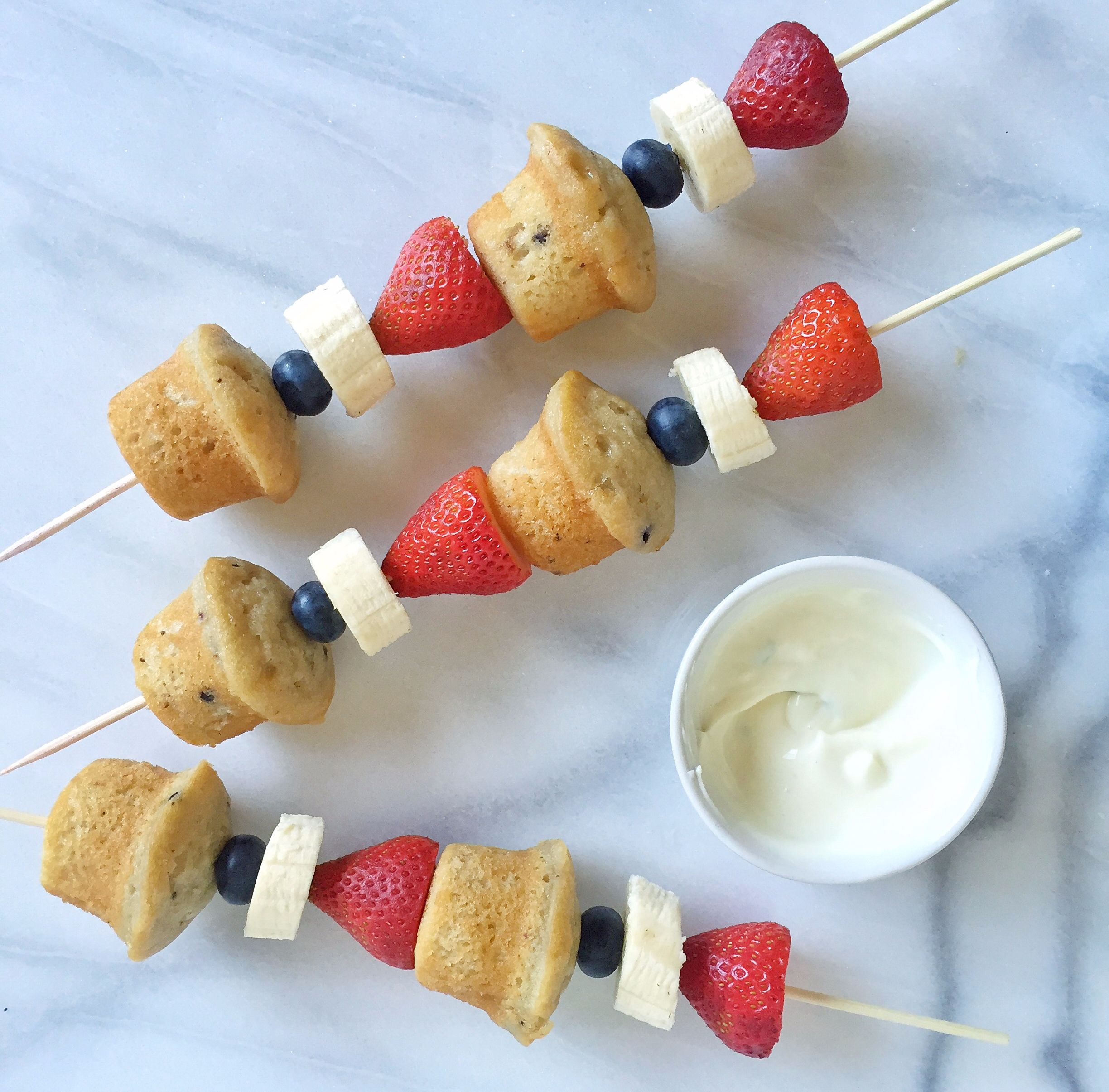 Mini Muffin Kabobs