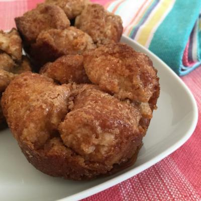 Mini Banana Muffin Monkey Bread