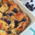 Mini Blueberry Muffin Bread Pudding