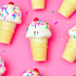 Mini Cupcake Ice Cream Cones